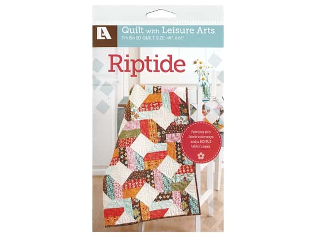 Leisure Arts Riptide Quilt Pattern