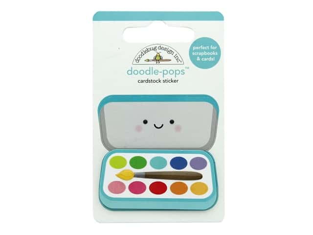 Doodlebug Collection School Days Doodle Pops Paint Box