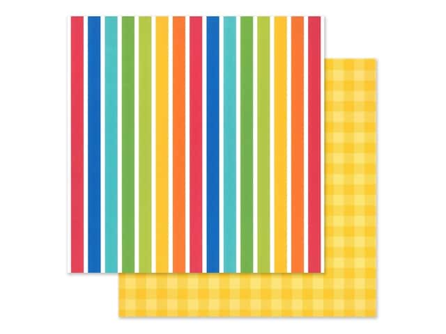 Doodlebug Collection School Days Paper 12 in. x 12 in. Very Primary