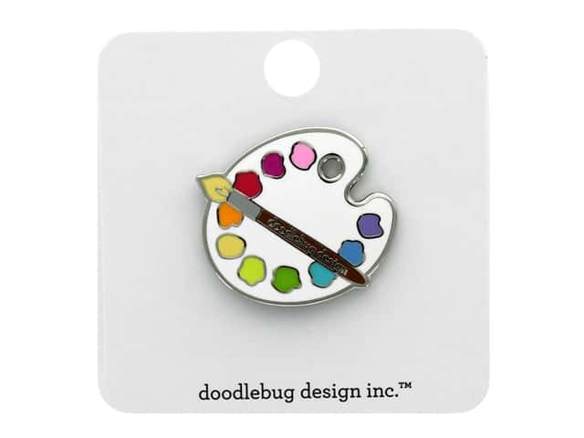 Doodlebug Collection School Days Collectible Pin Palette