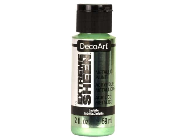 Decoart Extreme Sheen Metallic Paint 2 oz Jadeite