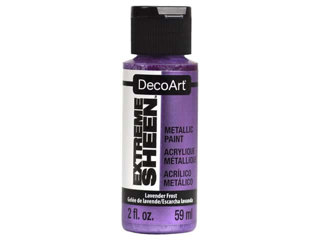 Decoart Extreme Sheen Metallic Paint 2 oz Lavender Frost