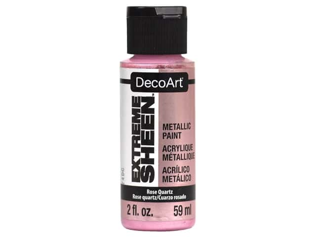 Decoart Extreme Sheen Metallic Paint 2 oz Rose Quartz