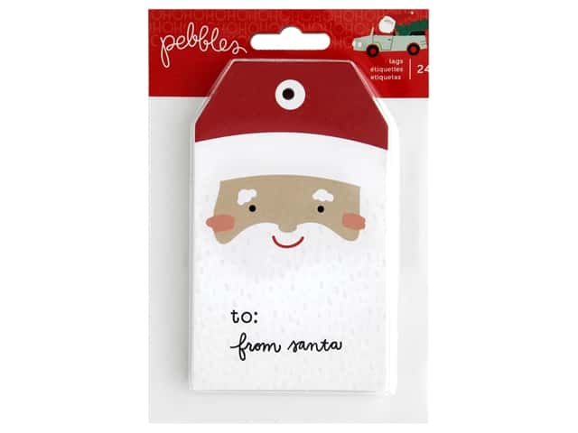 Pebbles Collection Merry Little Christmas Paper Pad Tag Pad