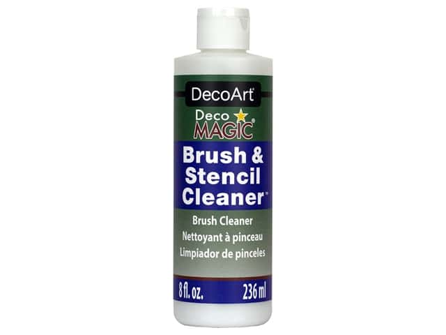 DecoArt DecoMagic Brush & Stencil Cleaner 8 oz
