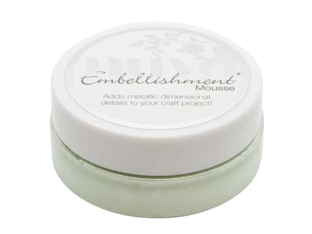 Nuvo Embellishment Mousse 2.2 oz Honeydew