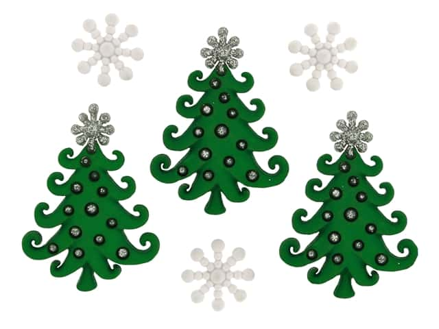 Jesse James Dress It Up Embellishments Christmas Collection A Whimsical Christmas