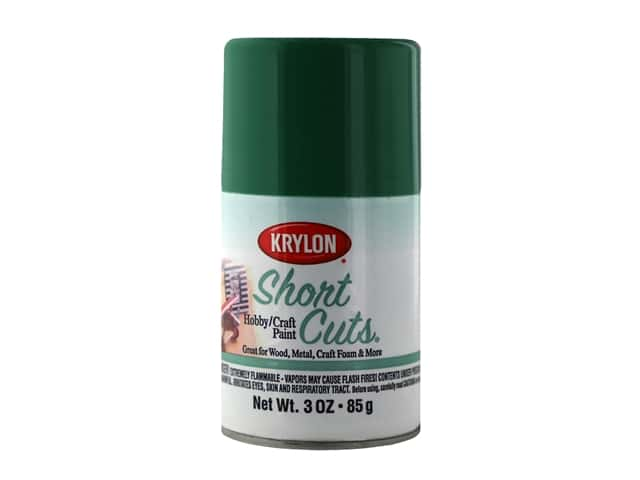 Krylon Shortcuts Aerosol Paints 3 oz Gloss Clover Green