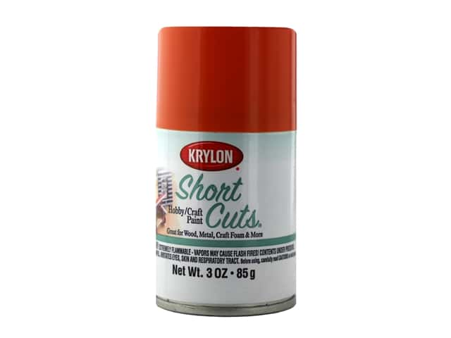 Krylon Shortcuts Aerosol Paints 3 oz Gloss Tangerine