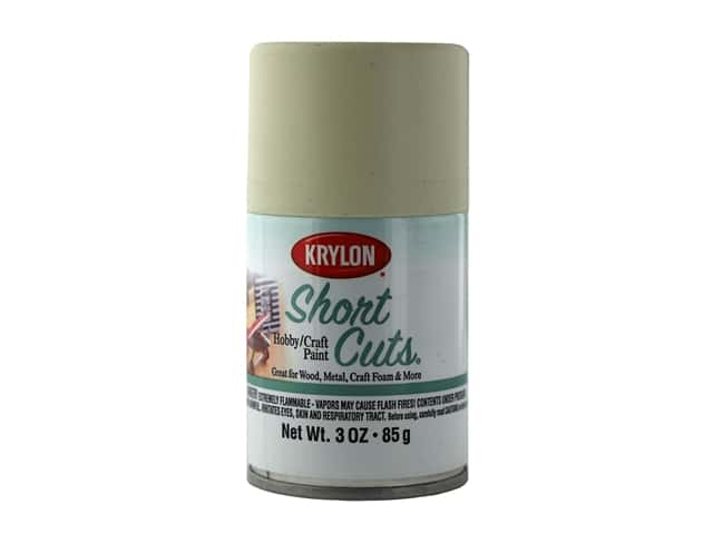 Krylon Shortcuts Aerosol Paints 3 oz Satin White Chiffon