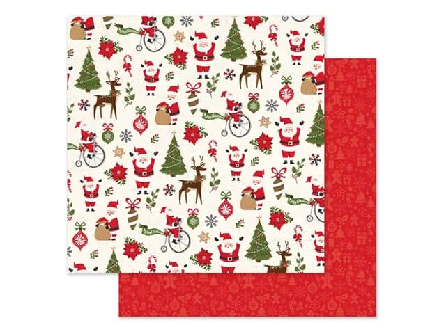 Echo Park Collection My Favorite Christmas Paper 12 in. x 12 in. Christmas Fun