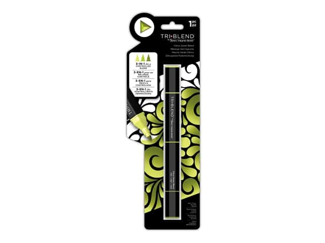 Crafter's Companion Spectrum Noir Tri Blend Marker Citrus Green