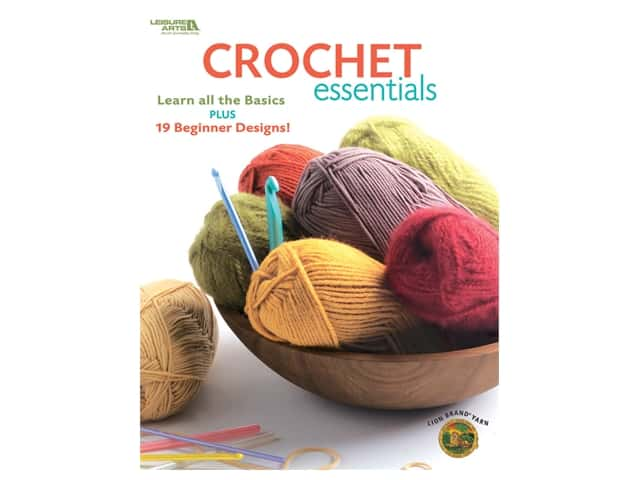 Leisure Arts Crochet Essentials Book
