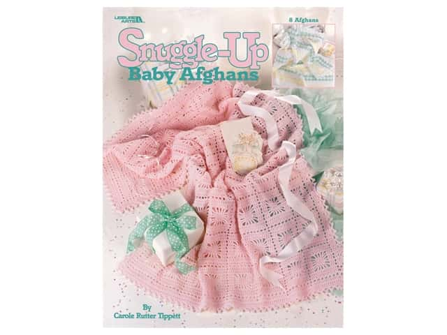Leisure Arts Snuggle-Up Baby Afghans Crochet Book