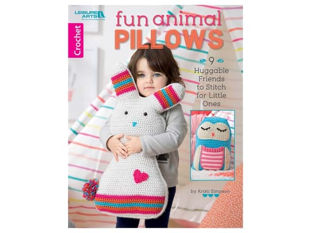 Fun Animal Pillows Crochet Book