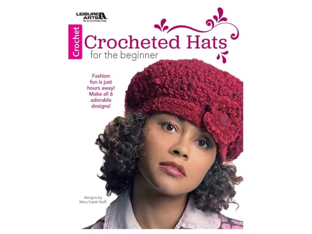 Crocheted Hats for the Beginner Book