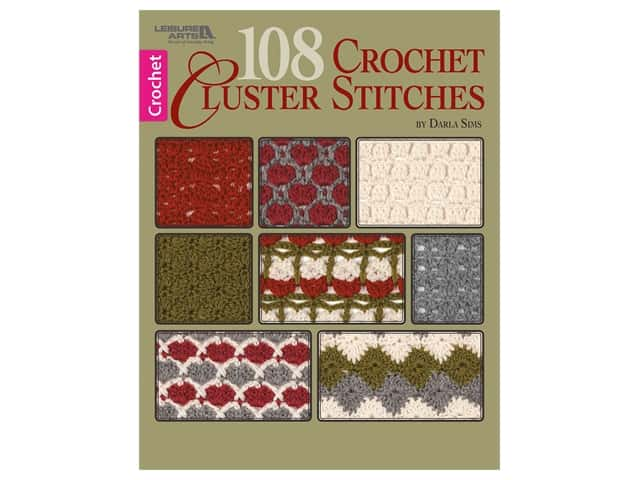 108 Crochet Cluster Stitches Book