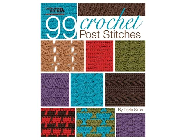 Leisure Arts 99 Crochet Post Stitches Book