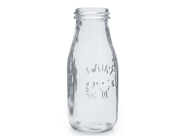 Leisure Arts Milk Bottle 6.25 in. Single