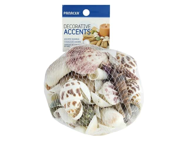 Panacea Decorative Seashells 12 oz. Assorted
