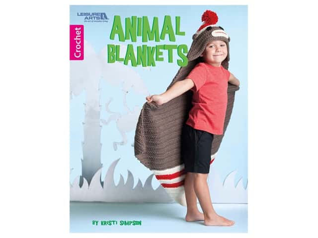 Leisure Arts Animal Blankets Book