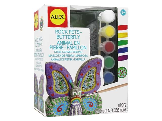 Alex Kit Rock Pets Butterfly
