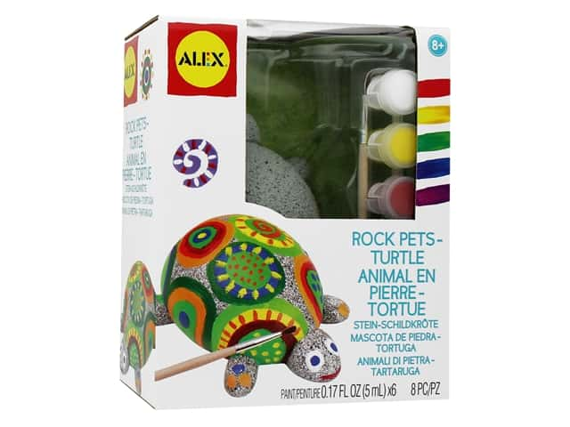 Alex Kit Rock Pets Turtle