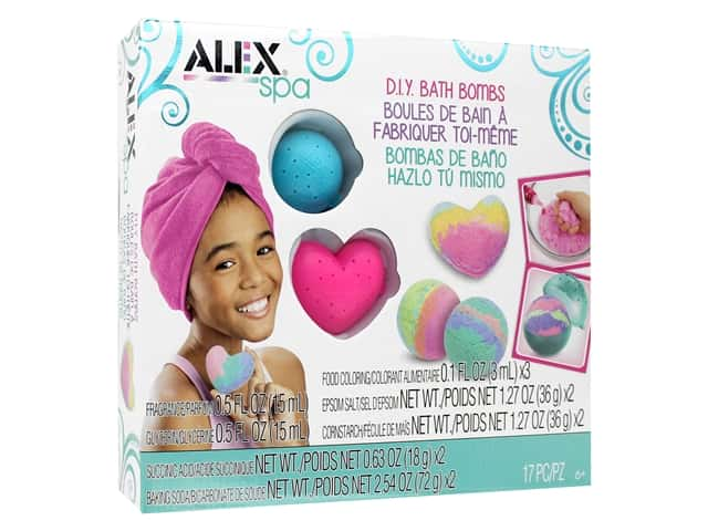 Alex Kit DIY Spa Fizzy Bath Bombs