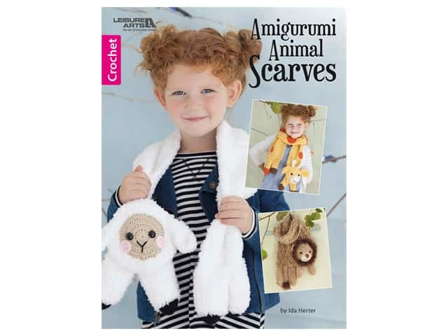 Leisure Arts Amigurumi Animal Scarves Book
