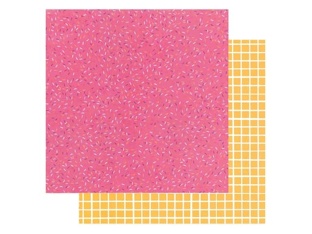 American Crafts Amy Tangerine 12 x 12 in. Paper Slice Of Life Sprinkle Confetti