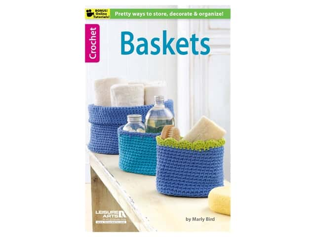 Baskets Crochet Book