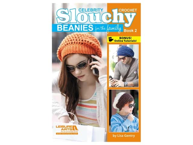 Crochet Celebrity Slouchy Beanies #2 Book
