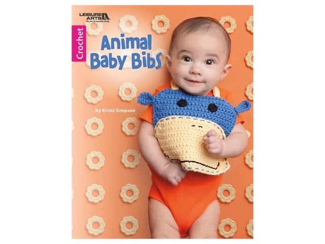 Leisure Arts Animal Baby Bibs Book