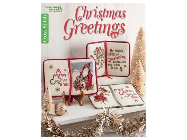 Leisure Arts Christmas Greetings Book