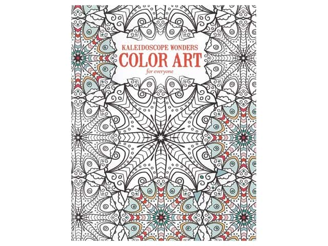 Kaleidoscope Wonders Color Art For Everyone Coloring Book by Leisure Arts