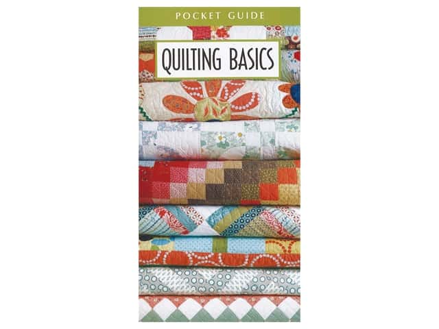 Quilting Basics Pocket Guide Book