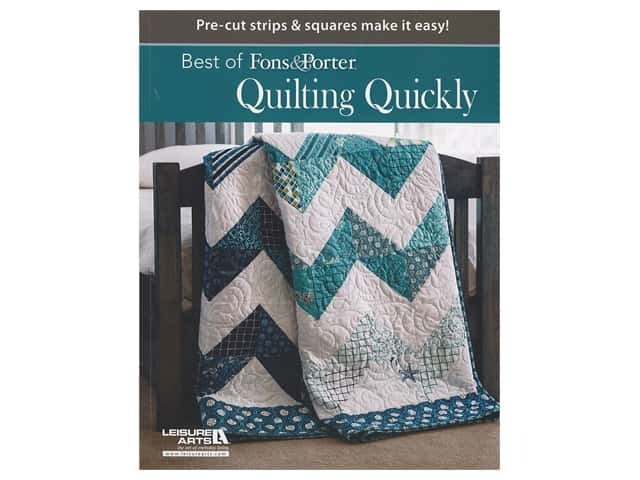 Leisure Arts Best of Fons & Porter Quilting Quickly Book
