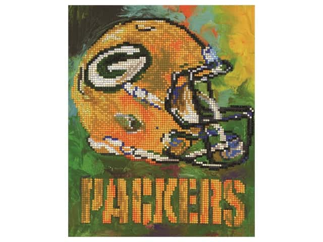 Diamond Art Kit 10 in. x 12 in. Intermediate NFL Team Green Bay Packers