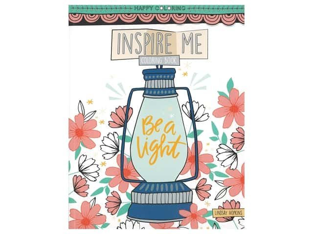 Inspire Me Coloring Book