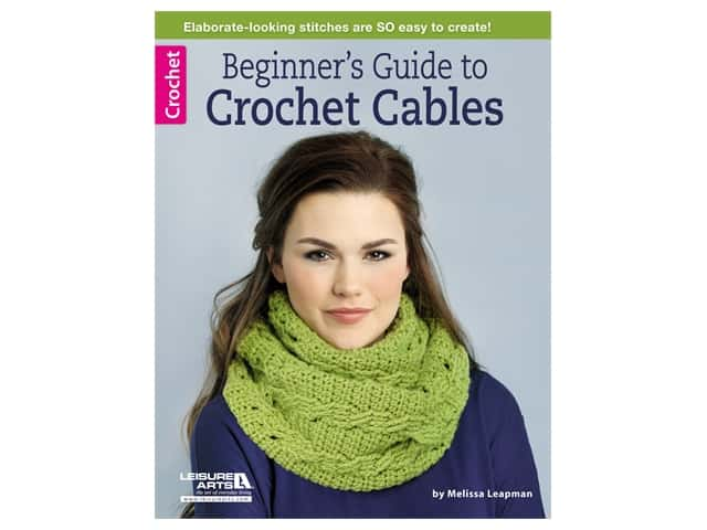 Beginner's Guide to Crochet Cables Book