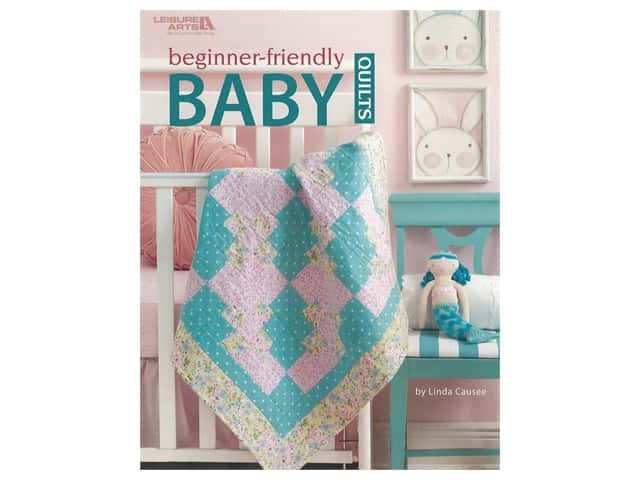 Leisure Arts Beginner Friendly Baby Quilts Book