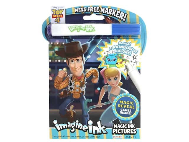 Toy Story 4 Imagine Ink Magic Ink Book