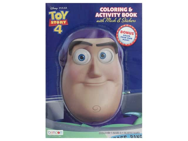 Bendon Coloring & Activity Book Toy Story 4 with Mask