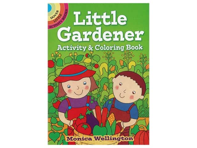 Dover Little Activity Books Little Gardener Activity & Coloring Book