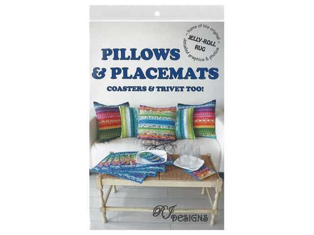 RJ Designs Jelly Roll Pillows & Placemats Pattern