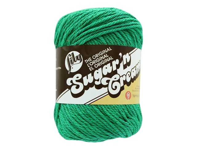 Sugar 'n Cream Yarn 120 yd. #1223 Mod Green