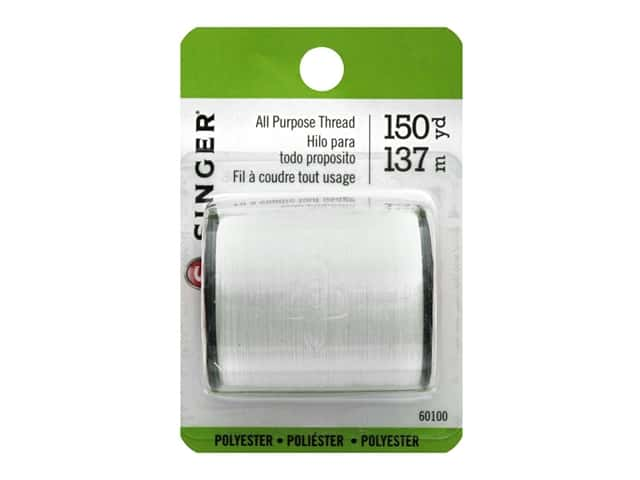 Singer Thread All Purpose Polyester 150 yd. White