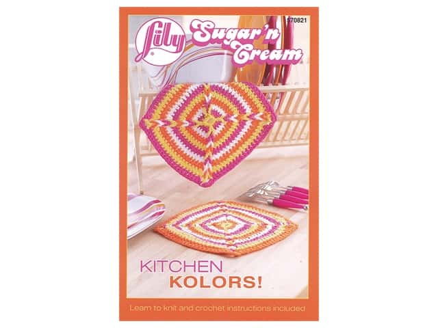 Lily Books Sugar'n Cream Kitchen Kolors Book