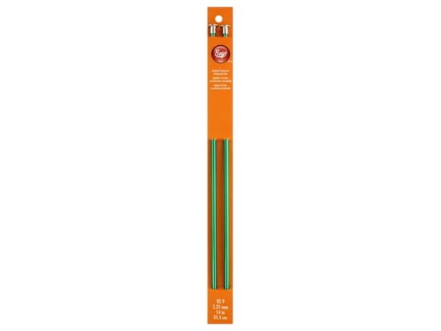 Boye Single Point Knitting Needles Aluminum 14 in. Size 9 (5.25 mm)