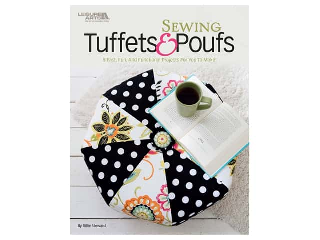 Leisure Arts Sewing Tuffets & Poufs Book